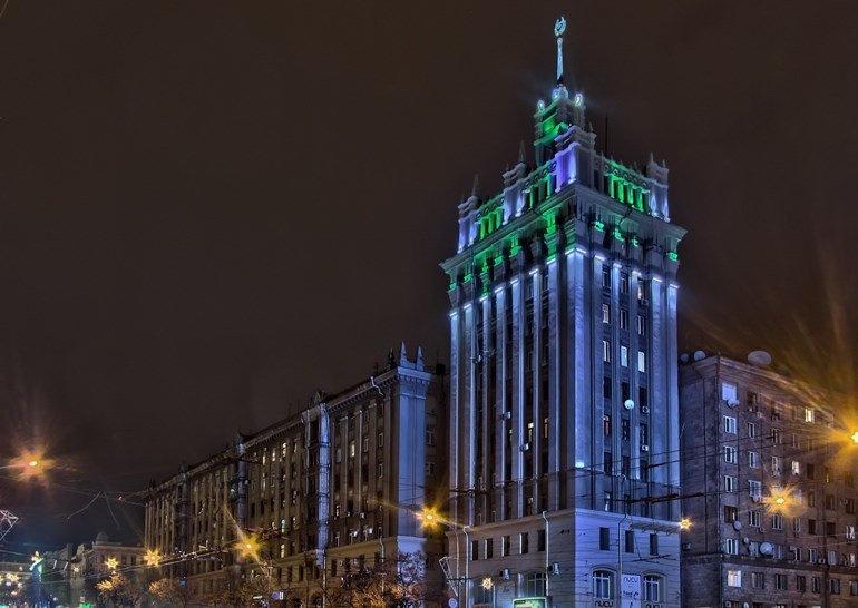 Дом со шпилем Харькова